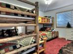 Bunk Room with two twin/full