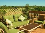 Private Guests Deck attached to private Getaway with Fabulous Views all around.