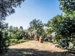 giardino con annesso orto
