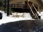 Arnold, CA Chalet-Rainy Retreat