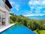 Amazing sea views to the Gulf of Thailand & the neighboring island of Koh Phangan!