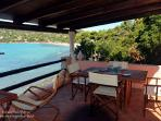 terrace by the sea