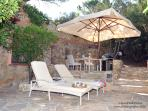 furnished terraces with bbq