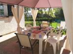 Cenador - outdoor eating area