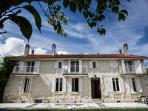 Les Avelines stone farmhouse with pool and views