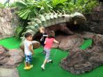 Dino Golf : in Kata beach, approx. 30 mins drive