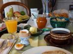 le petit déjeuner bio e fait 'maison'