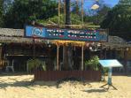 Restaurant on the beach - walking distance
