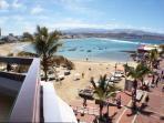 Vista desde le balcón