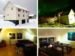 seahouse nr1. 3 bedrooms total 6 persons, 1 bathroom, 2 toilets, seaview.