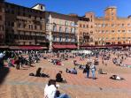 The famous square in Siena. You must go there