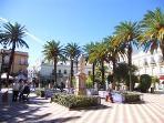 Plaza en el centro