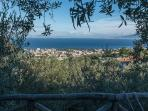 The panoramic sea view from Casa Mazzola in Sorrento