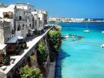 La pittoresca città di Otranto a soli 20 Km