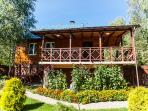 Wooden villa at the forest - the best solution for perfect and natural holidays!