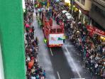 CARNAVAL FROM BALCONY