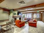 Relax in the clubhouse at this splendid Keystone vacation rental condo