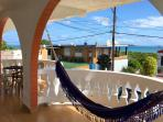 Breezy Caribbean House with Sea Views, Spanish Balconies with a Hammock for Siestas