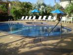Waikomo pool - swim, sunbathe, relax.
