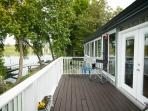 Lg Balcony off Sun Room with unobstructed River Views