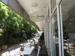 Vegetarian cafe: Greenhouse cafe in Lamkin Lane