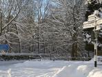 Winter in Rosedale Abbey
