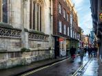 Quality shopping just on the doorstep on Low Petergate