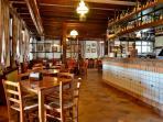Sala principale birreria con cucina Noe's