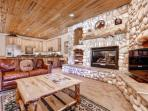 Spacious, comfortable & fully modernized ski condo at Canyons Resort in Park City, Utah. Features leather furniture...