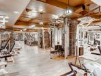 Westgate fitness center with treadmills, ellipticals, weights, training area, yoga mats and much much more.