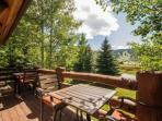Balcony view of Deer Valley Resort.