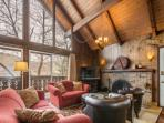 Welcome to this restored A-frame empire avenue ski chalet, which has all the authentic ski house features blended with...