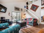 This open and bright mountain style 2BR/2BA condo has everything you need for a memorable stay during your next ski...