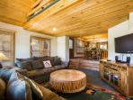 Upon entering this quintessential Park City residence, you will immediately feel right at home!