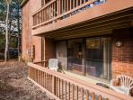 You walkout and private balcony just off of the large family living room. There is a second balcony in the second...