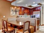 Formal dining room can accommodate 6 - 8 people.