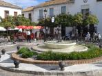 Plaza de Espana in local village