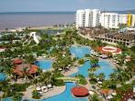 Pool area Nuevo Vallarta