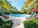 Private & Heated Pool for Coral Lagoon Owners & Guests