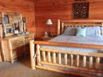 New King Size Log Bedroom Suite