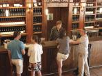 One of many tasting rooms in Sonoma to enjoy!  There are endless tasting opportunities in the Plaza.