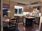 Gourmet kitchen with Viking range.  Two dishwashers, warming drawer, micro, drawer and full fridges.