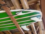 Great surfing for beginners to advanced is 50 mins drive away
