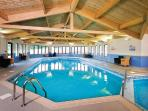 Indoor heated swimming pool just a stroll away plus Free passes  for all the family.