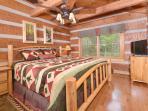 2nd floor king bedroom, memory foam mattress