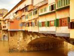 Ponte Vecchio (600m away)