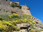 Castle Walls in Spring