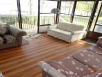 Upper Suite Sun-room-Double Sofa Bed
