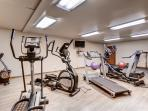 Guests will also have use of the workout center in the clubhouse