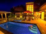 Elegant living at the villa